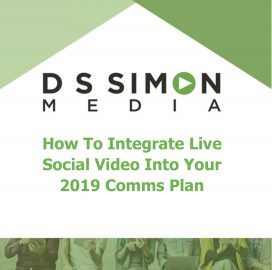 How To Integrate Live Social Video Into Your 2019 Comms Plan Cover